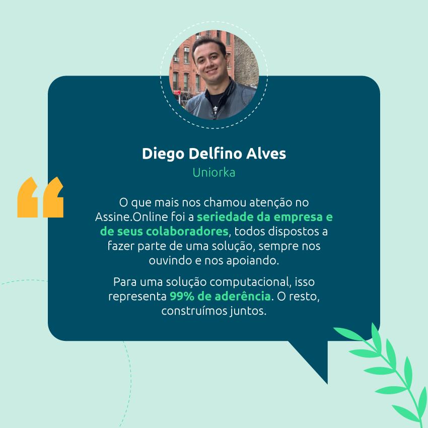 Depoimento do Diego