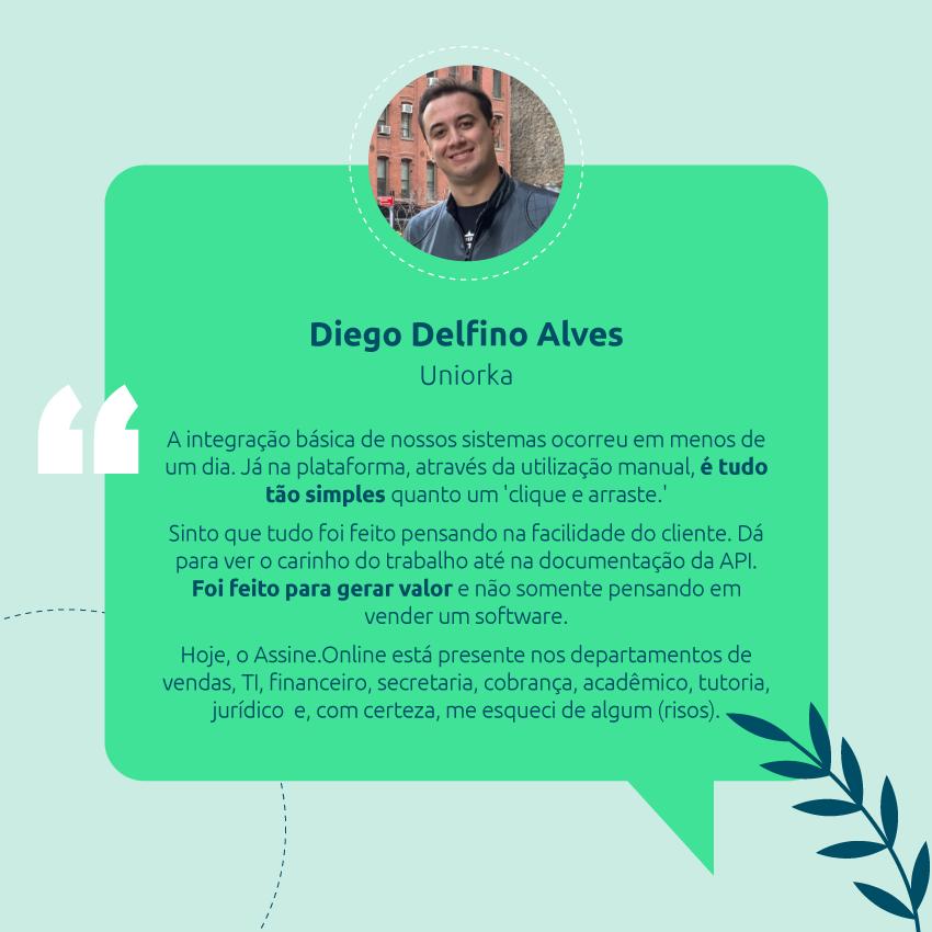 Depoimento do Diego - Uniorka